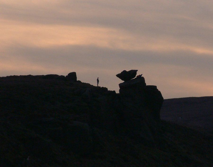 silhouette above widdop