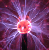 A picture of a plasma ball