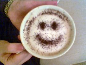 A Happy Cup Of Coffee