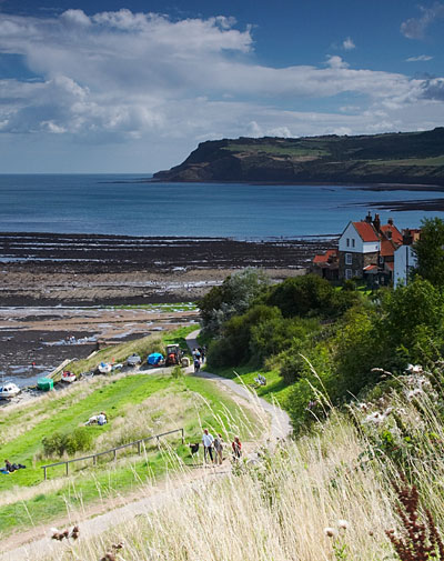 Robin-Hoods-Bay-Path-To