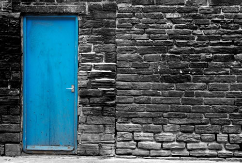 The Door Is Blue