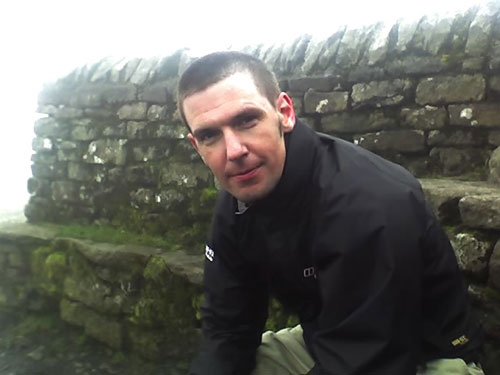 That's me looking knackered in the clouds on Ingleborough