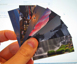 Some of my moo cards