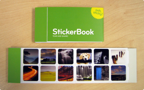 My moo StickerBook