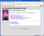 A PHP Discussion Forum