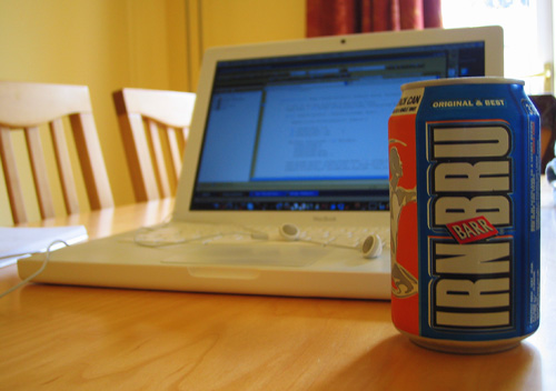 My Mac and some Irn Bru