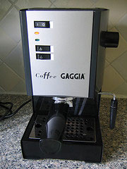 My Trusty Gaggia Classic Coffee Machine