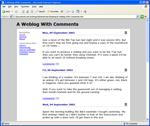 A CityDesk Weblog Template