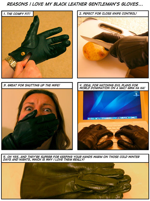 Why I Love My Black Leather Gentleman's Gloves