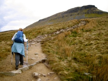 The Path Up To Pen-Y-Ghent