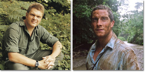 Ray Mears and Bear Grylls