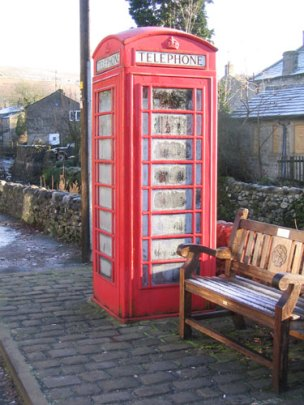 A Red Phone Box