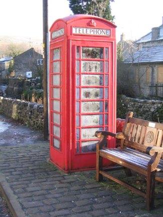A Red Phone Box