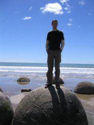 The Moeraki Rocks