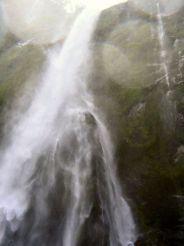 Under Stirling Falls