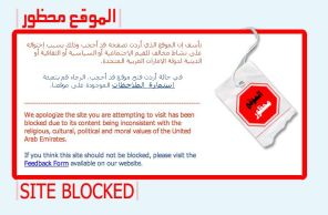 No Flickr In UAE