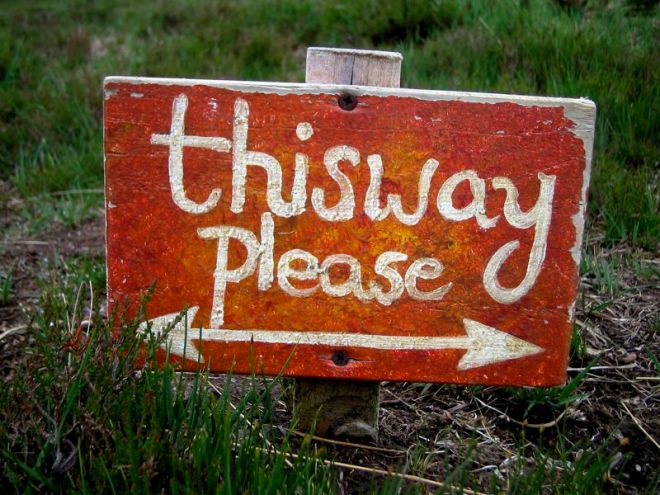 This Way Please