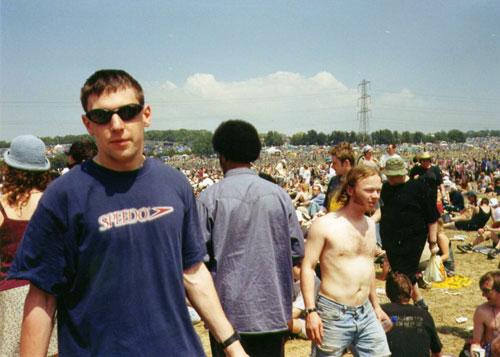 My good self at Glastonbury