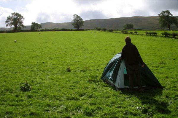 Camping In Pendleton