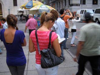 Tourists Taking Photos