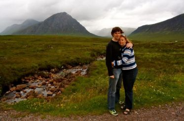 Newlyweds At Glencoe