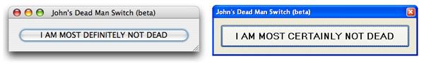 Potential John's Dead Man Switch Clients