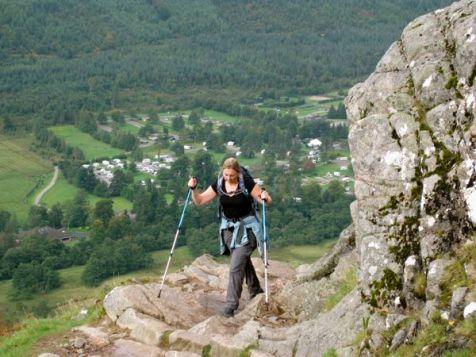 Gaining Altitude Above Glen Nevis