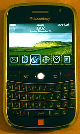 My BlackBerry Bold