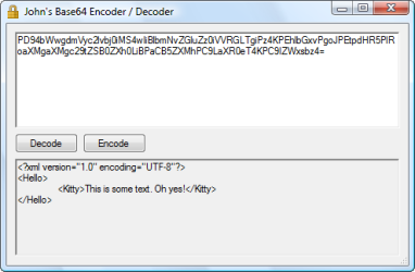 John's Base64 Encoder / Decoder | John's Adventures