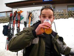 Jim Drinking Beer