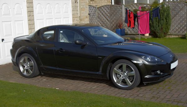My New Mazda RX-8