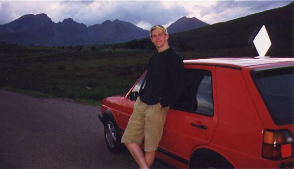 Me And My Old Golf GTi