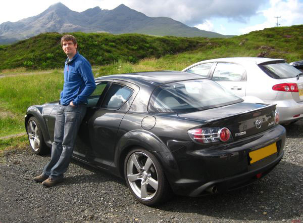 The Black Cuillin And My Black Car