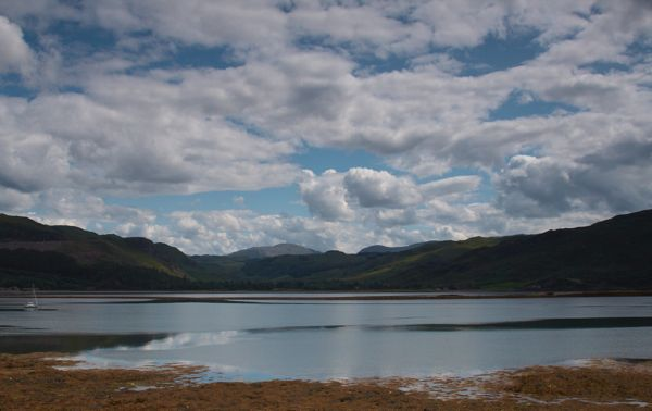 Big Sky Over Lochcarron