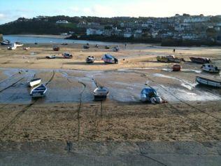 Low Tide At St Ives Harbour