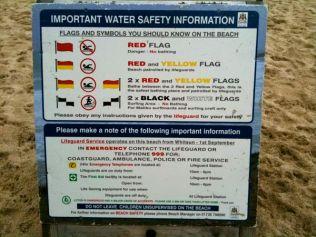 Beach Safety Information