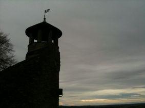 A Lookout Tower Above Cremieu