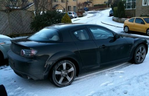 My RX8 Makes It Home
