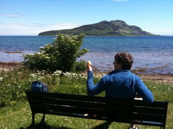 View Of The Holy Isle
