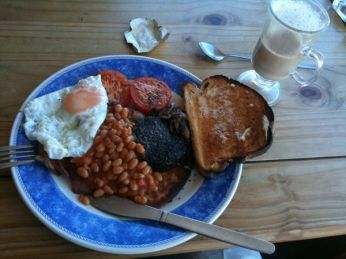 A Classic Scottish Breakfast
