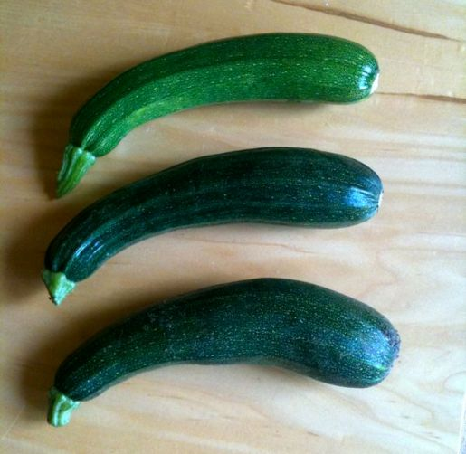 The First 3 Courgettes