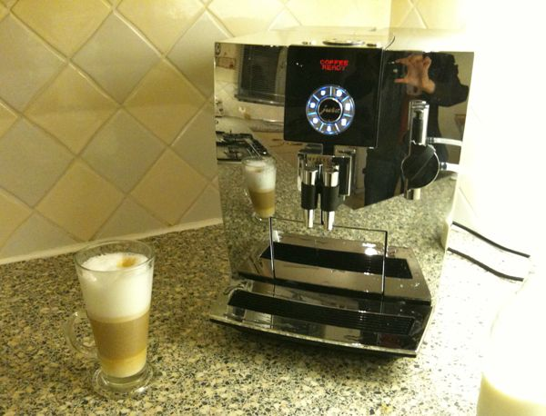 My Jura Coffee Machine