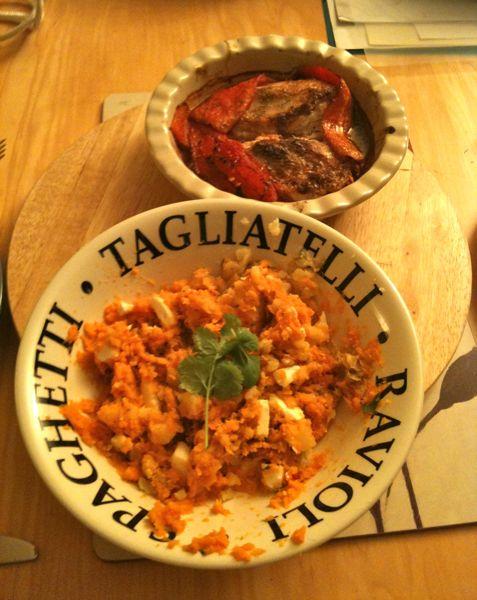 Piri Piri Chicken with Potatoes and Feta