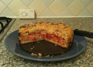Rachael's Special Rhubarb Cake
