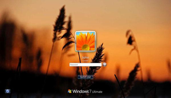 Set The Windows 7 Login Screen