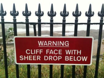 Is There Any Other Kind Of Cliff Face?