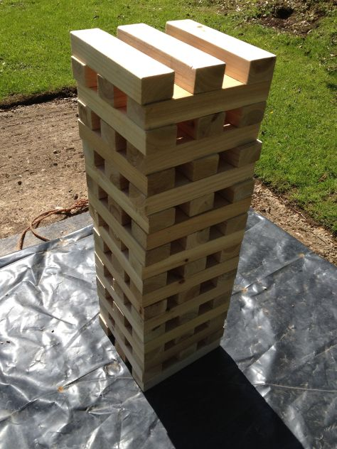 Jenga - A Steady Hand Required