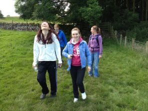 Having Fun Walking In The Dales