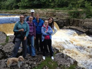 The Team At Aysgarth Falls