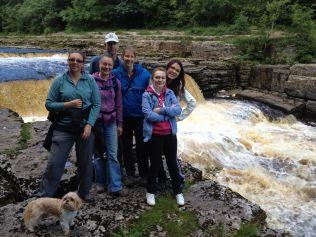 The Team At Aysgarth Falls